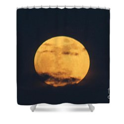 Shower Curtain featuring the photograph Moon by William Norton