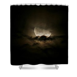 Moonlight Shower Curtain by Karen Harrison