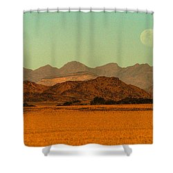 Moonrise Moment Shower Curtain