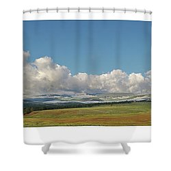 Moreno Valley Clouds Shower Curtain