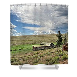 Moreno Valley Ranch Shower Curtain