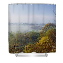 Morning Dust Shower Curtain by Heiko Koehrer-Wagner