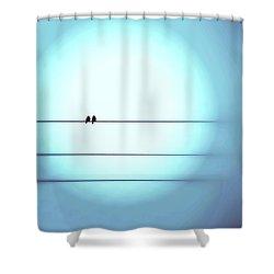 Morning Hopes  Shower Curtain