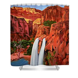 Morning In The Canyon Shower Curtain