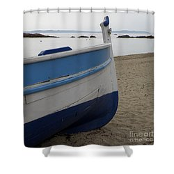 Morning Seascape Shower Curtain by Lainie Wrightson