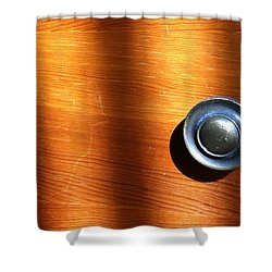 Shower Curtain featuring the photograph Morning Shadows by Bill Owen