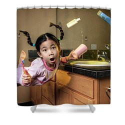 Morning Surprise Shower Curtain