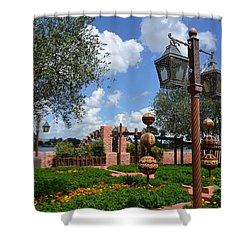 Moroccan Garden I Shower Curtain