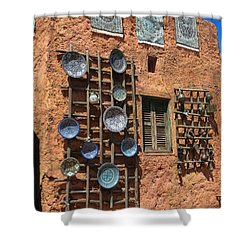Moroccan Marketplace Shower Curtain