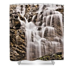 Shower Curtain featuring the photograph Morrell Falls 1 by Janie Johnson
