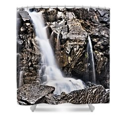 Shower Curtain featuring the photograph Morrell Falls 2 by Janie Johnson