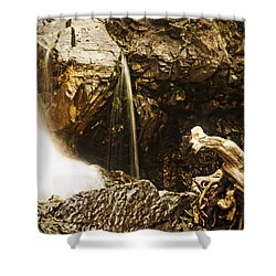 Shower Curtain featuring the photograph Morrell Falls 3 by Janie Johnson
