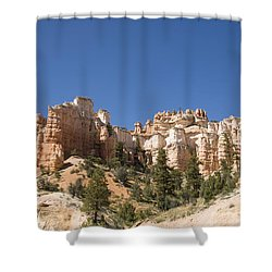 Mossy Cave Trail Shower Curtain by Gloria & Richard Maschmeyer
