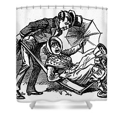 Mother Goose: Wife Shower Curtain by Granger