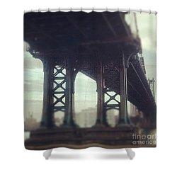 Motion Blur Shower Curtain
