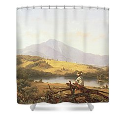 Mount Mansfield Shower Curtain by Jerome Thompson