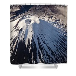 Mount Ngauruhoe Tongariro Np New Zealand Shower Curtain by Colin Monteath