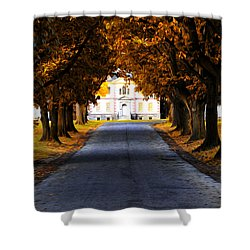 Mount Pleasant Mansion - Philadelphia Shower Curtain by Bill Cannon
