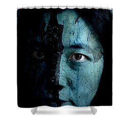 Mountain Dweller Shower Curtain by Christopher Gaston