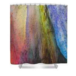 Shower Curtain featuring the digital art Move On by Richard Laeton