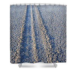 Moving And Grooving Shower Curtain by Bob Christopher