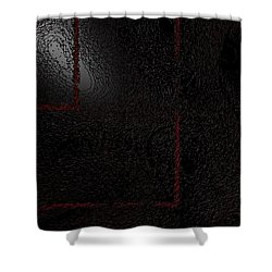 Shower Curtain featuring the digital art Muddy by Jeff Iverson