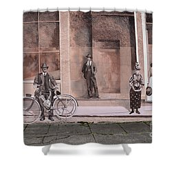 Mural Art Oregon 1 Shower Curtain by Bob Christopher