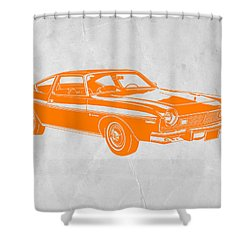 Muscle Car Shower Curtain