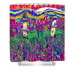 Mushrooms On Mushrooms Shower Curtain