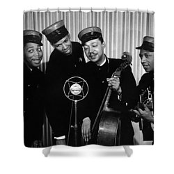 Music: The Ink Spots Shower Curtain by Granger