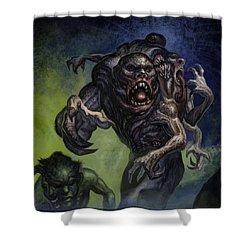 Mutants  Shower Curtain