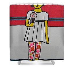 My Ice Cream  Shower Curtain