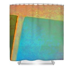 Shower Curtain featuring the digital art My Love by Richard Laeton