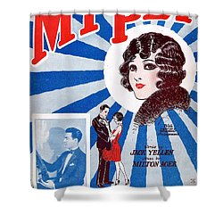 My Pet Shower Curtain by Mel Thompson