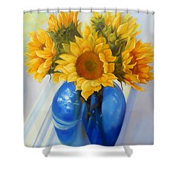 My Sunflowers Shower Curtain