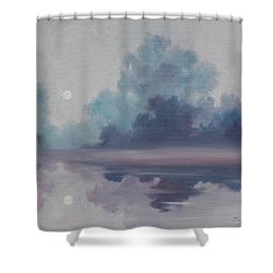 Mystic Moonlight Shower Curtain by James Christopher Hill