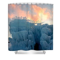 Mystic Time Shower Curtain
