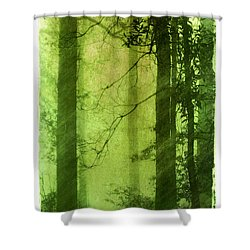 Mystical Glade Shower Curtain by Judi Bagwell