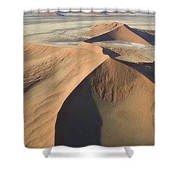 Namib Desert Shower Curtain by Unknown