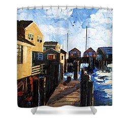 Nantucket Shower Curtain by Anthony Falbo