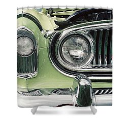 Shower Curtain featuring the photograph Nash Nose by John Schneider