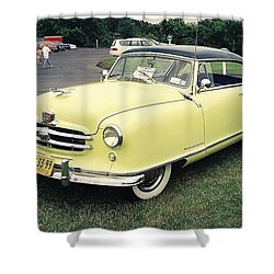 Shower Curtain featuring the photograph Nash Rambler by John Schneider