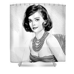 Natalie Wood 05 Shower Curtain by Dean Wittle