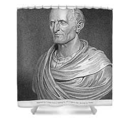 Nathaniel Bowditch Shower Curtain by Granger