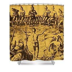 Native Amercian Medicine Shower Curtain by Science Source
