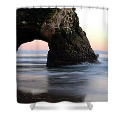 Natural Bridge Shower Curtain by Bob Christopher