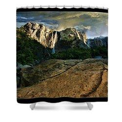 Nature Glory Shower Curtain by Blake Richards