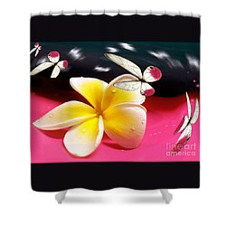 Nature In Orbit Shower Curtain