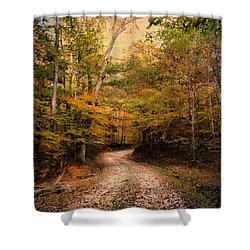 Nature's Harmony Shower Curtain by Jai Johnson