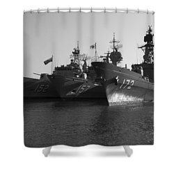 Naval Joint Ops V1 Shower Curtain by Douglas Barnard